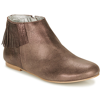 Παπούτσια Γυναίκα Μπότες Ippon Vintage DOLLY MAGIC Beige / Gold
