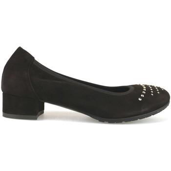 Παπούτσια Γυναίκα Μπαλαρίνες Calpierre Ψηλοτάκουνα AJ377 καφέ