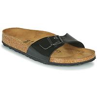 Παπούτσια Γυναίκα Τσόκαρα Birkenstock MADRID Black / Verni