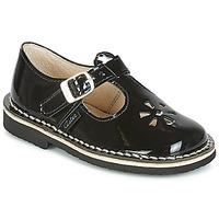 Παπούτσια Κορίτσι Μπαλαρίνες Aster DINGO Black / Vernis