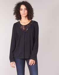 Υφασμάτινα Γυναίκα Μπλούζες Vila VIEVERLY Black