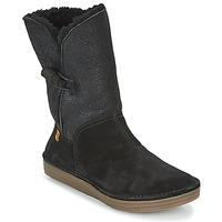 Παπούτσια Γυναίκα Μπότες El Naturalista RICE FIELD Μαυρο
