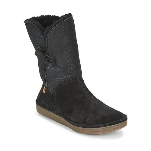 Παπούτσια Γυναίκα Μπότες για την πόλη El Naturalista RICE FIELD Μαυρο