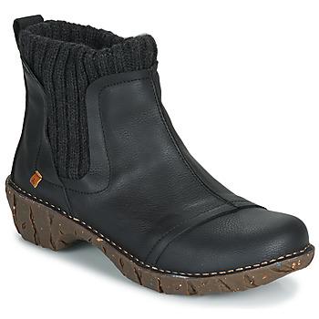Παπούτσια Γυναίκα Μπότες El Naturalista YGGDRASIL Μαυρο