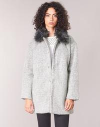 Υφασμάτινα Γυναίκα Παλτό Le Temps des Cerises DUCHESSE Grey