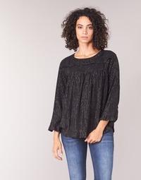 Υφασμάτινα Γυναίκα Μπλούζες See U Soon IRAZU Black / Gold