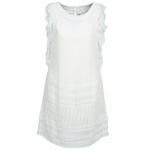 Υφασμάτινα Γυναίκα Κοντά Φορέματα Stella Forest AUDRENE Άσπρο
