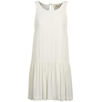 Υφασμάτινα Γυναίκα Κοντά Φορέματα Stella Forest DELFINEZ Ecru