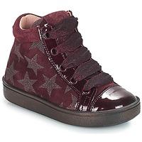 Παπούτσια Κορίτσι Ψηλά Sneakers Acebo's MASSA Bordeaux