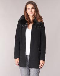 Υφασμάτινα Γυναίκα Παλτό Desigual COLLINE Black