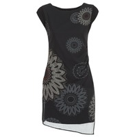 Υφασμάτινα Γυναίκα Κοντά Φορέματα Desigual SANDRINI Black