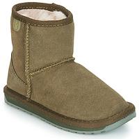 Παπούτσια Κορίτσι Μπότες EMU WALLABY MINI Kaki