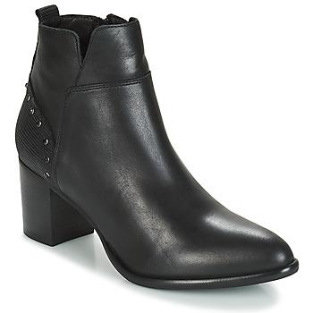Παπούτσια Γυναίκα Μποτίνια Regard RUSTANO V1 MAIA NOIR Black