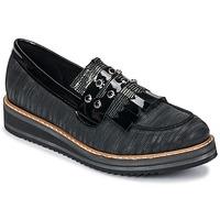 Παπούτσια Γυναίκα Μοκασσίνια Regard RUVOLO V1 ZIP NERO Black