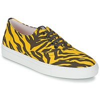 Παπούτσια Γυναίκα Χαμηλά Sneakers Moschino Cheap & CHIC LIBORIA Yellow / Black