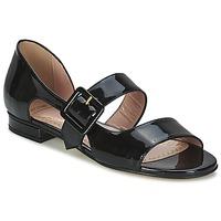 Παπούτσια Γυναίκα Σανδάλια / Πέδιλα Moschino Cheap & CHIC LORETTA Black