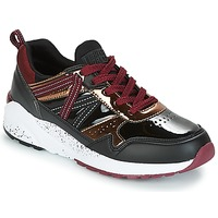Παπούτσια Γυναίκα Χαμηλά Sneakers Superdry URBAN STREET RUNNER Black / Bordeaux