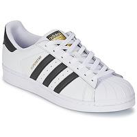 Παπούτσια Χαμηλά Sneakers adidas Originals SUPERSTAR άσπρο / Black