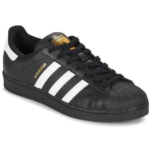 Παπούτσια Άνδρας Χαμηλά Sneakers adidas Originals SUPERSTAR FOUNDATION Άσπρο / Black