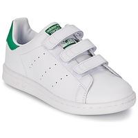 Παπούτσια Αγόρι Χαμηλά Sneakers adidas Originals STAN SMITH CF C Άσπρο / Green