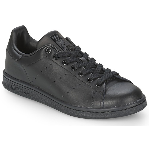 cab18f23be4 adidas Originals STAN SMITH Black - Δωρεάν Αποστολή   Spartoo.gr ...