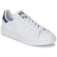 Παπούτσια Χαμηλά Sneakers adidas Originals STAN SMITH Άσπρο / Μπλέ