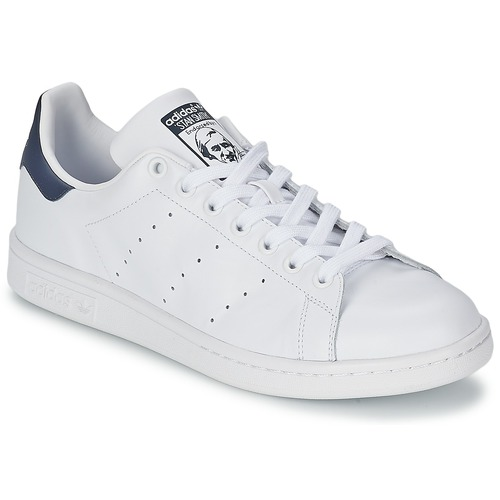 the latest 24aca 1e4c8 Παπούτσια Χαμηλά Sneakers adidas Originals STAN SMITH Άσπρο  Μπλέ