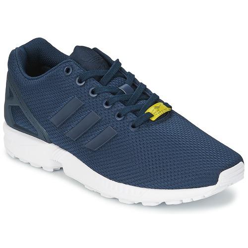 Παπούτσια Άνδρας Χαμηλά Sneakers adidas Originals ZX FLUX μπλέ / άσπρο