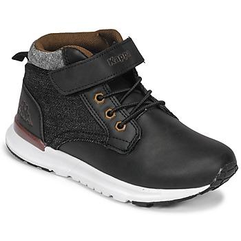 Παπούτσια Αγόρι Ψηλά Sneakers Kappa TELMO EV Black