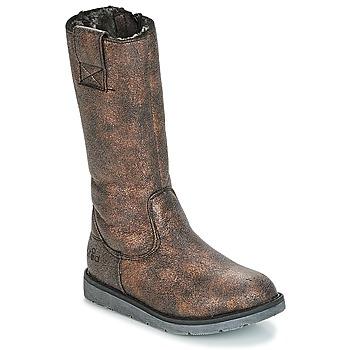 Παπούτσια Κορίτσι Μπότες για την πόλη Mod'8 ALTANA Black / Bronze