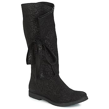 Παπούτσια Γυναίκα Μπότες για την πόλη Papucei LUCIA Black