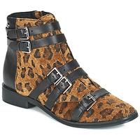 Παπούτσια Γυναίκα Μποτίνια Le Temps des Cerises IZY Leopard