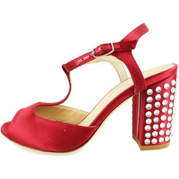 Παπούτσια Γυναίκα Σανδάλια / Πέδιλα Lella Baldi Σανδάλια AH826 το κόκκινο