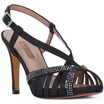 Παπούτσια Γυναίκα Σανδάλια / Πέδιλα Albano RASO NERO Nero