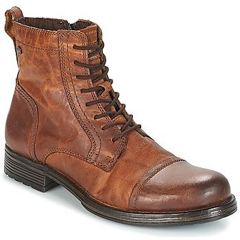 Παπούτσια Άνδρας Μπότες Jack & Jones JFW RUSSEL Cognac