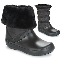 Παπούτσια Γυναίκα Snow boots Crocs CROCBAND WINTER BOOT Black