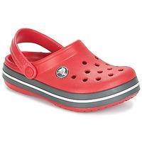 Παπούτσια Παιδί Σαμπό Crocs CROCBAND CLOG KIDS Red