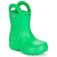 Παπούτσια Παιδί Μπότες βροχής Crocs HANDLE IT RAIN BOOT KIDS Green