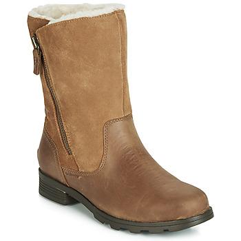Παπούτσια Γυναίκα Μπότες Sorel EMELIE FOLDOVER Camel