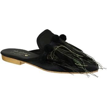 Παπούτσια Γυναίκα Σαμπό Gia Couture VENUS SATIN B nero
