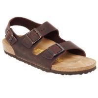 Παπούτσια Άνδρας Σανδάλια / Πέδιλα Birkenstock MILANO Brown