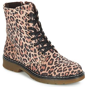 Παπούτσια Κορίτσι Μπότες Bullboxer LANA Leopard