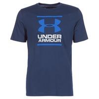 Υφασμάτινα Άνδρας T-shirt με κοντά μανίκια Under Armour UA GL FOUNDATION SS T Marine