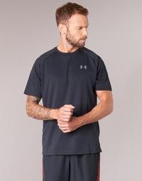 Υφασμάτινα Άνδρας T-shirt με κοντά μανίκια Under Armour UA TECH SS TEE Black