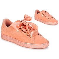 Παπούτσια Γυναίκα Χαμηλά Sneakers Puma WN SUEDE HEART SATIN.DUSTY Orange