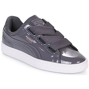 Παπούτσια Γυναίκα Χαμηλά Sneakers Puma WN BASKET HEART PATENT.IRO Σίδερο