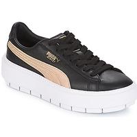 Παπούτσια Γυναίκα Χαμηλά Sneakers Puma WN PLATFORM TRACE BSQT.BLK Μαυρο