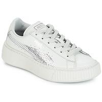 Παπούτσια Κορίτσι Χαμηλά Sneakers Puma G PS B PLATFORM BLING.GRAY Γκρι