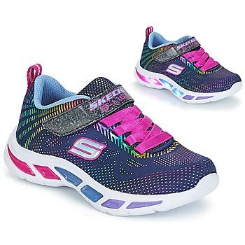 Παπούτσια Κορίτσι Χαμηλά Sneakers Skechers LITEBEAMS Navy