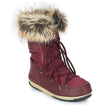 Παπούτσια Γυναίκα Snow boots Moon Boot MONACO LOW WP Bordeaux